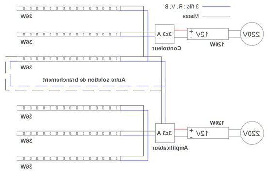 Comment brancher des LED en série ?