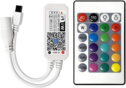 Comment connecter la télécommande au ruban LED ?