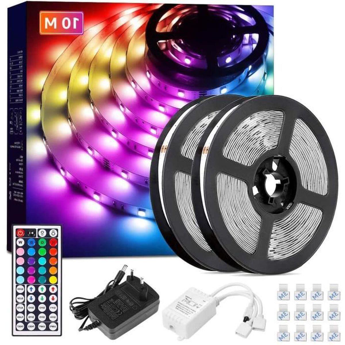 Comment installer LED dans une chambre ?