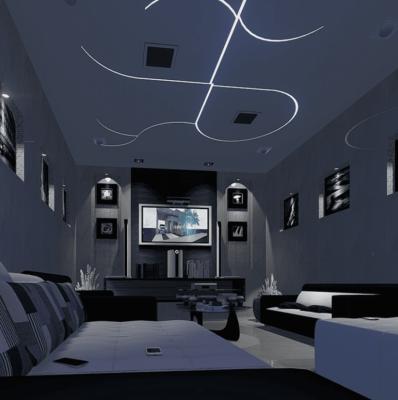Comment installer ruban LED plafond chambre ?