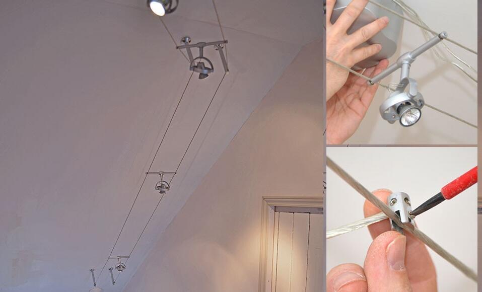 Comment mettre des spots dans le plafond ?