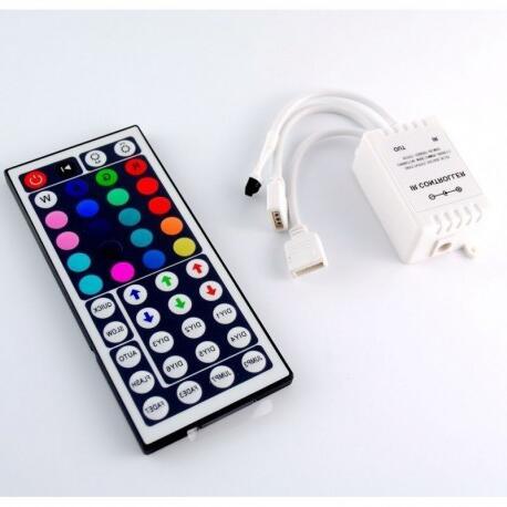 Comment reinitialiser une télécommande LED ?
