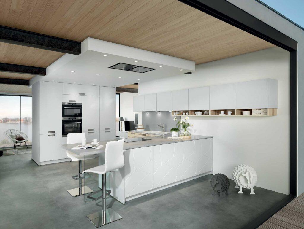 Où placer les spots dans une cuisine ?