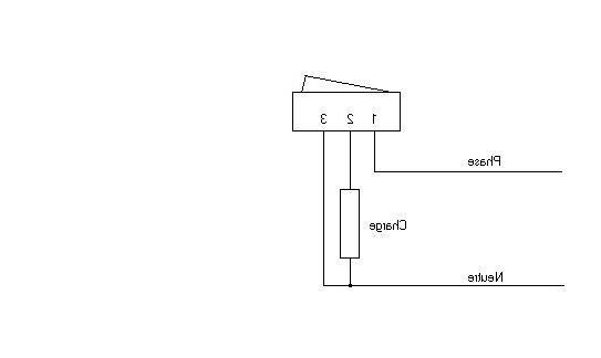 Comment brancher un interrupteur avec voyant sans neutre ?