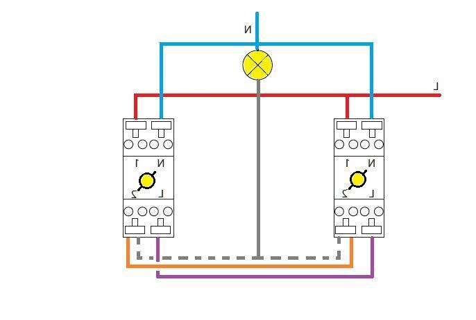 Comment brancher un interrupteur double avec voyant lumineux ?