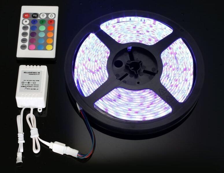 Comment changer la couleur des LED avec télécommande ?