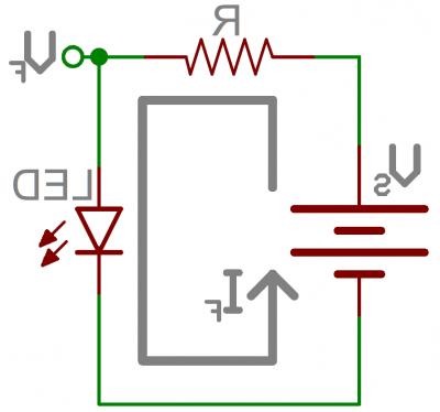 Comment connaître la tension d'alimentation d'une LED ?