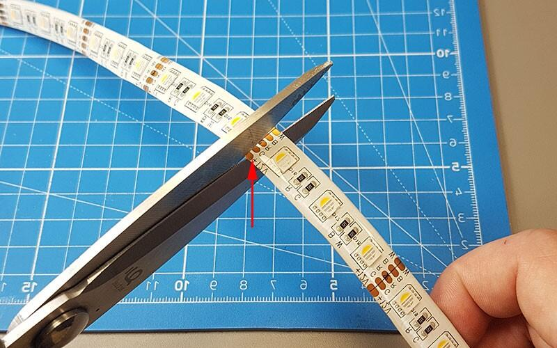 Comment faire un angle avec un ruban LED ?