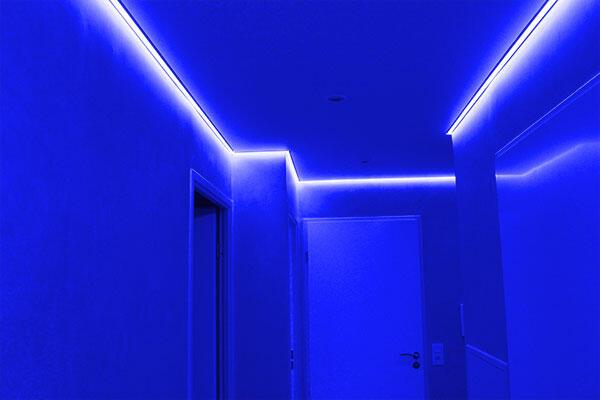 Comment placer des LED sur un mur ?